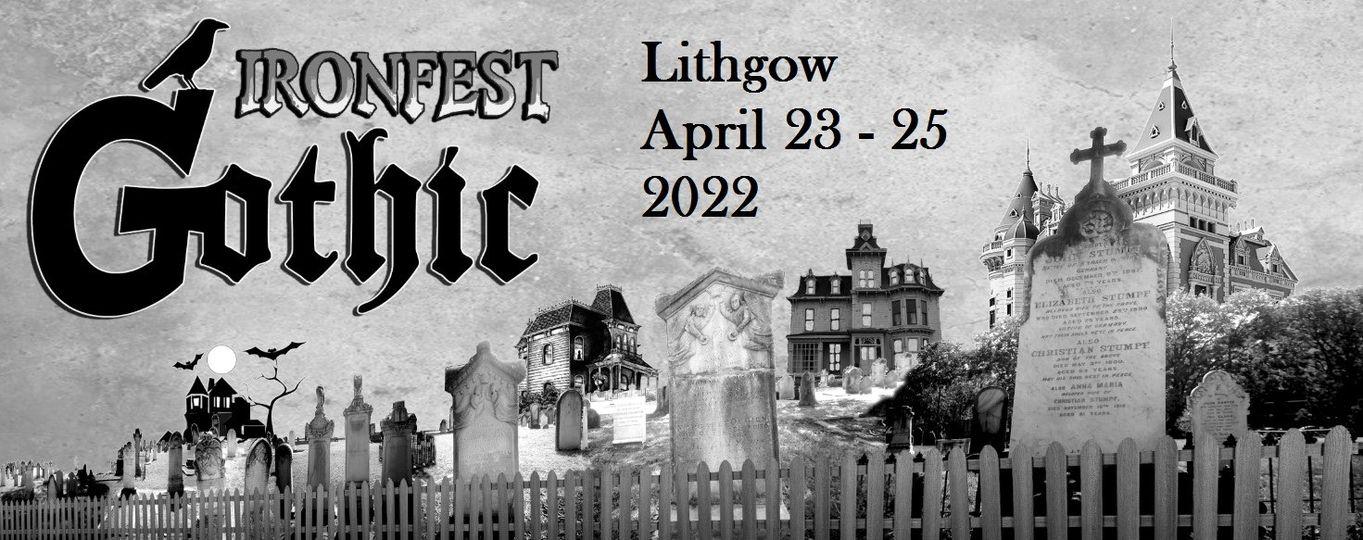 Ironfest Gothic 2021 hero image